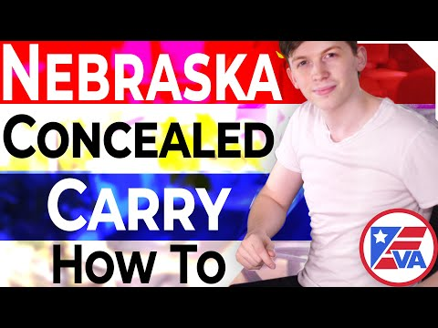 How To Get A Concealed Carry Permit In Nebraska (NE)