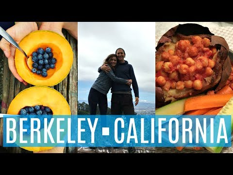 RECOVERY + ROAD TRIP WHAT I EAT IN A DAY IN BERKELEY