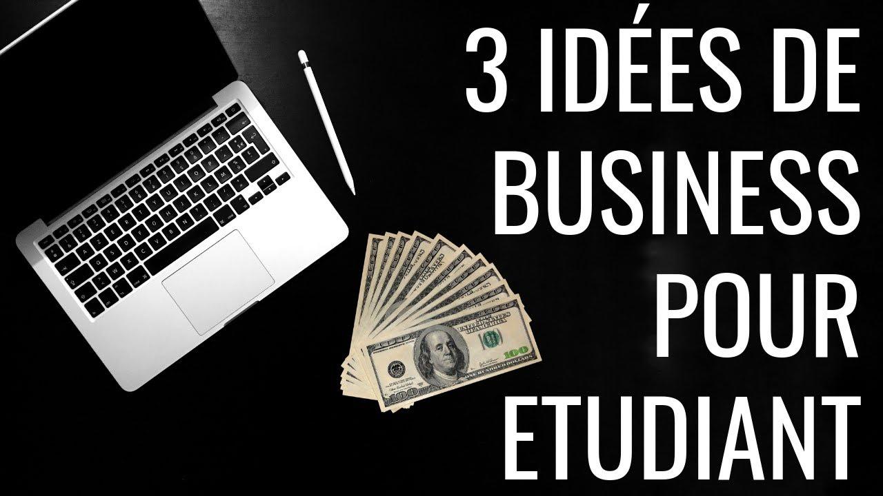 Entreprendre quand on est étudiant