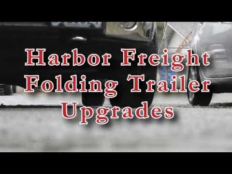 Harbor Freight Folding trailer Upgrades