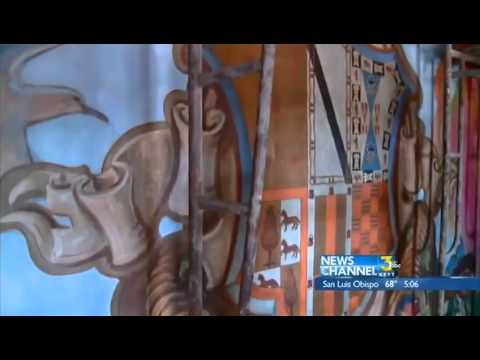 Santa Barbara Courthouse mural project almost complete