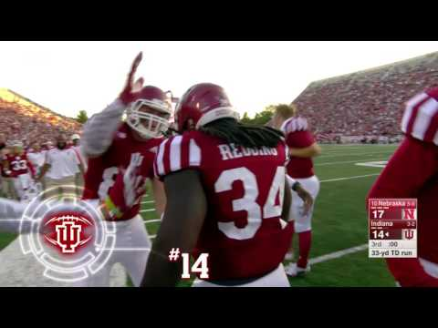 IUFB Top Plays - #14 - Devine Redding's Run for the Score vs. Nebraska