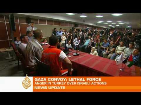 Anger in Turkey over Israeli flotilla raid