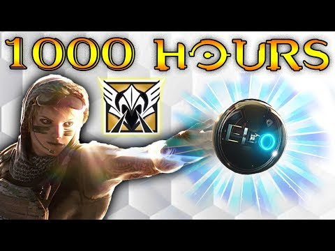 What 1000 HOURS of VALKYRIE Experience Looks Like - Rainbow Six Siege