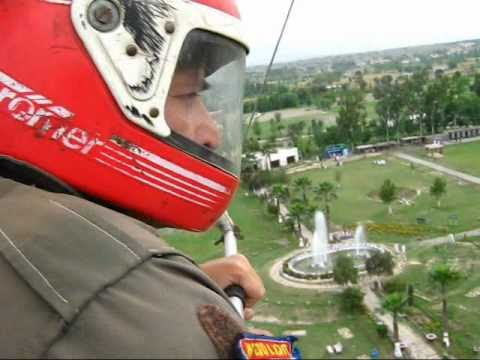 ME FLYING OVER PESHAWAR IN A MOTOR GLIDER!