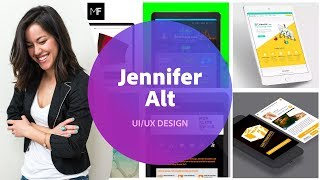 UI UX Design With Jennifer Alt 1 Of 3