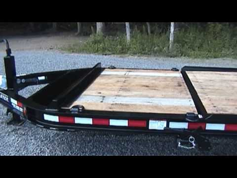 Towmaster Drop Deck Tilt Trailers Youtube