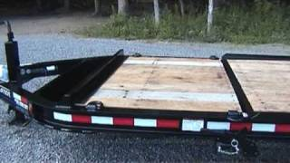 Video still for Towmaster Drop Deck Tilt Trailers