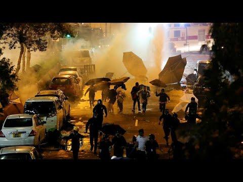 União Europeia apela ao recuo das tensões em Hong Kong
