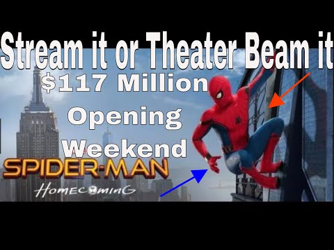 Stream It or Theater Beam It|Spiderman...