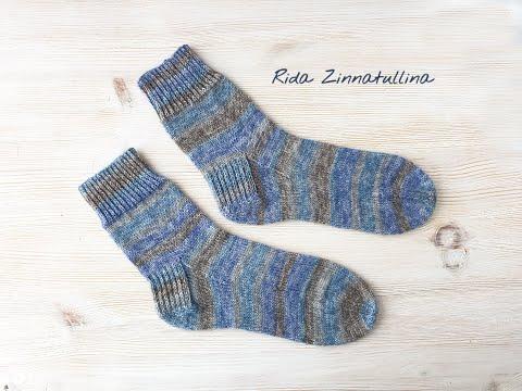 Мужские носки спицами, ч. 4