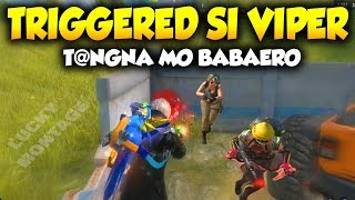 Triggered si Viper! Minura ng Fans ( ROS Lucky Montage )