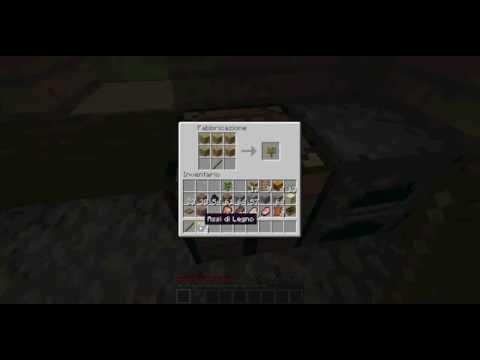 Minecraft come costruire la scala a pioli gli scalini for Costruire una scala in legno per soppalco