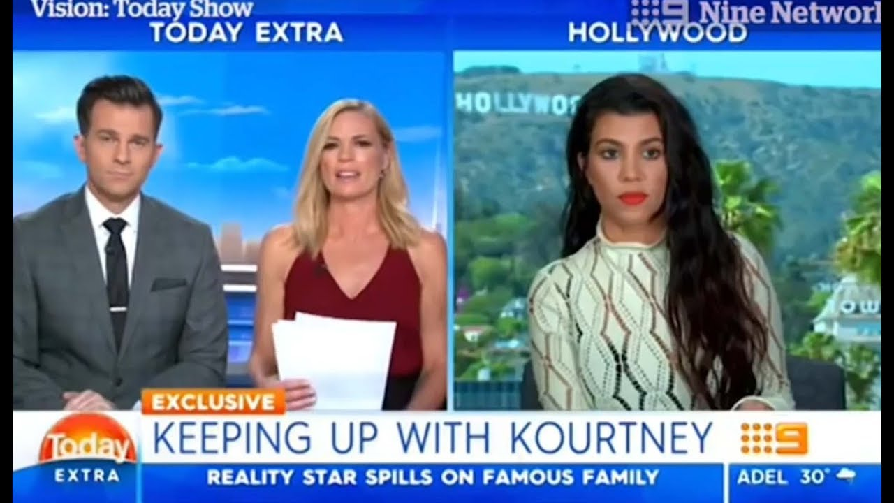 Strange moment with Kourtney Kardashian / MK ULTRA victim