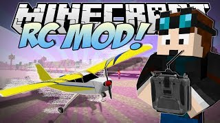Minecraft   RC MOD! (Remote Controlled Stunt Planes!)   Mod Showcase