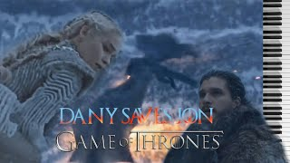 Daenerys Saves Jon Theme GoT S7x06 Piano Sheets Against All Odds Ramin Djawadi