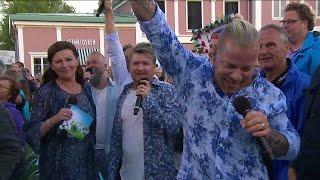 Arvingarna sjunger Eloise med publiken - Lotta på Liseberg (TV4)