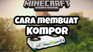 Cara Membuat Kompor di Minecraft | Minecraft PE Tutorial Indonesia