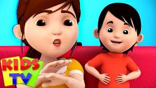 No No Song   Kindergarten Songs & Nursery Rhymes for Babies   Bob The Train   Kids Tv
