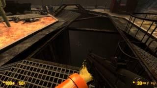 "Black Mesa Source Walkthrough - Chapter 12 ""Surface Tension"" Steam Edition 1080P 60FPS"