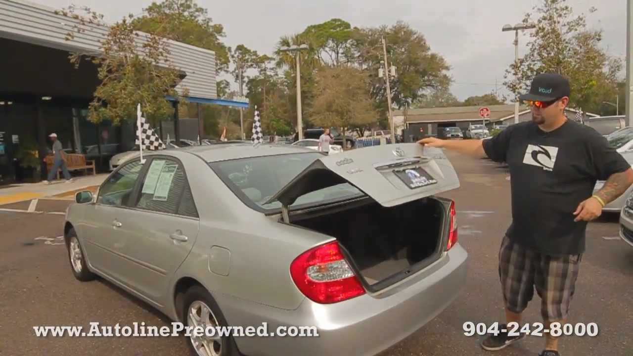 Autolines 2002 Toyota Camry LE Walk Around Review Test Drive