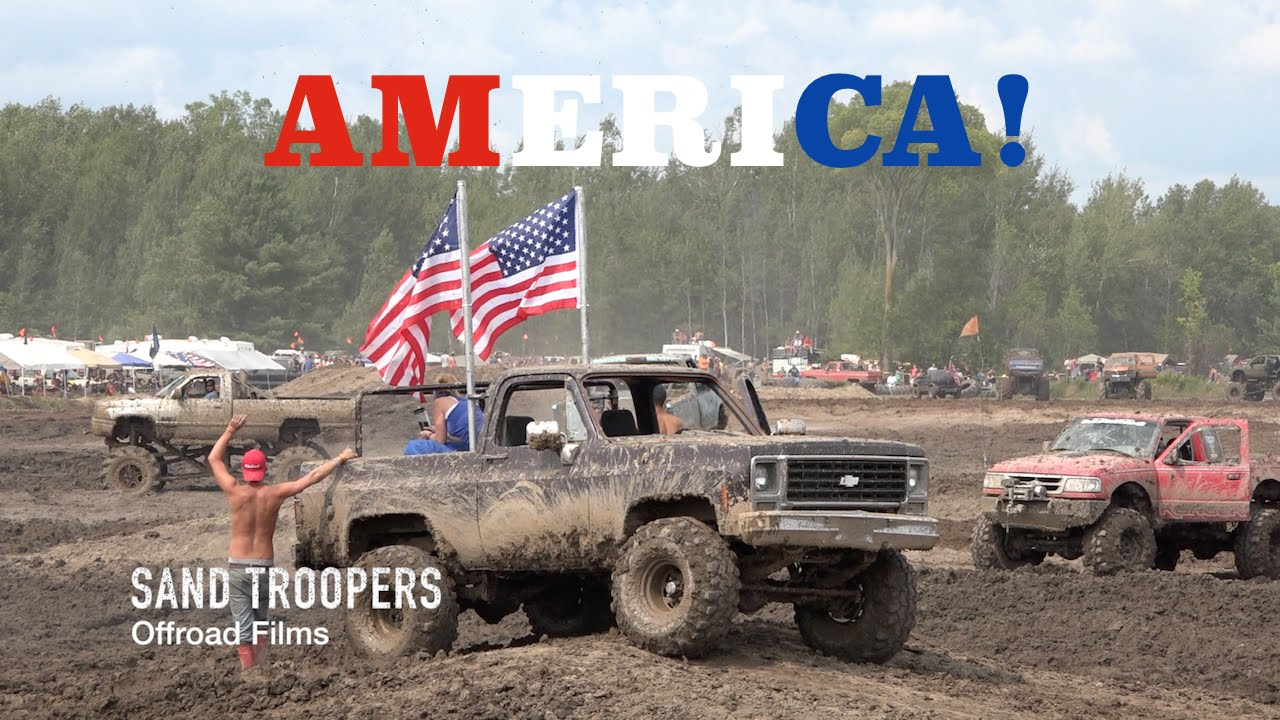 "Trucks Gone Wild Michigan >> ""AMERICA"" @ Trucks Gone Wild 2015 MUD BOGGING - YouTube"