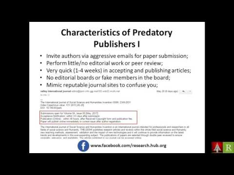 What is a Predatory Journal? Part 1 [Bengali]