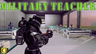 Halo 5 Teacher - Military Teacher