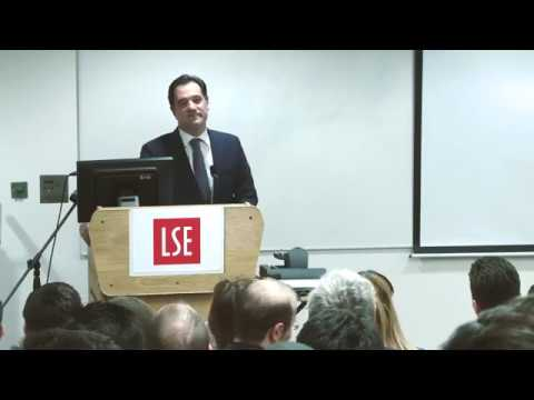 Ομιλία Άδωνι Γεωργιάδη στο LSE - London School of Economics and Political Science 01/03/2017