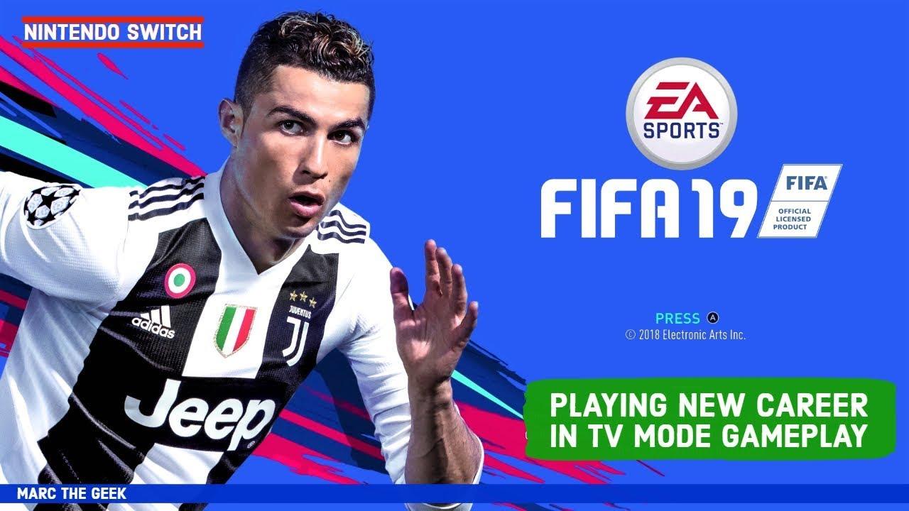 Nintendo Switch: FIFA 19 Career Mode Gameplay