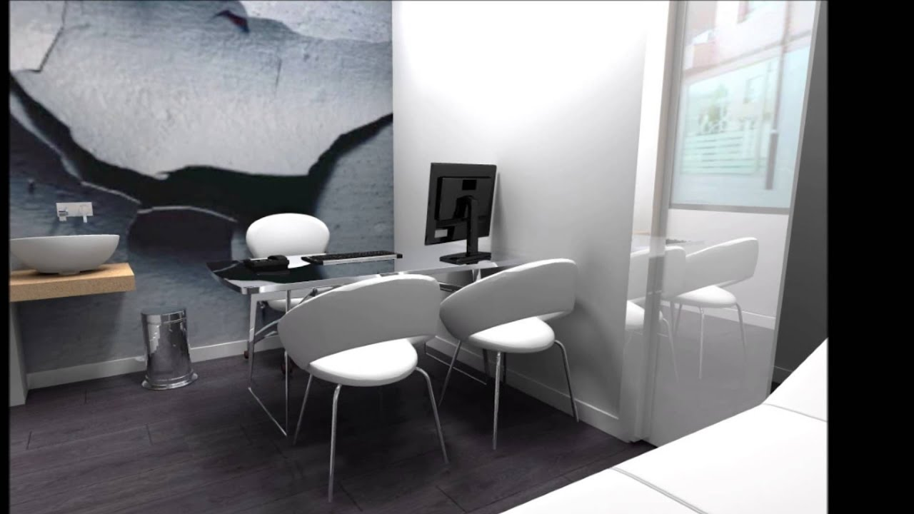 Art3d dise o grafico centro fisioterapia youtube for Diseno grafico interiores