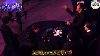 171115 EXO(엑소) reaction to MOMOLAND(모모랜드) - Freeze(꼼짝마) + Wonderful Love at Asia Artist Awards 2017