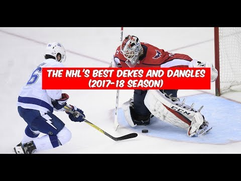 The NHL's Best Dekes and Dangles (2017-18 Season)
