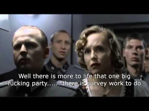 Hitler Leaves The Sinking (Survey) Ship