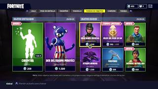 TIENDA DE OBJETOS FORTNITE 4 DE JULIO SKIN NUEVA OSO / ITEM SHOP FORTNITE 4 OF JULY NEW BEAR SKIN