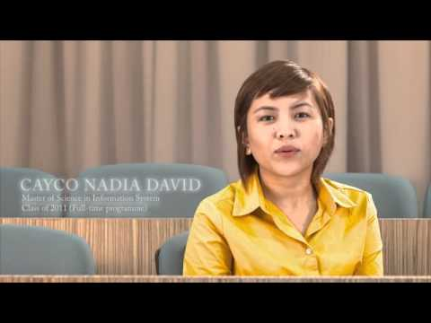 MSc in Information System Class of 2011 - Cayco Nadia David (Part 3/3)