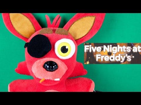Foxy Plush - Five Nights at Freddy's Mystery Item - FNAF Mymoji