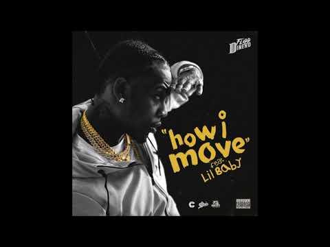 Flipp Dinero - How I Move feat. Lil Baby (432hz)