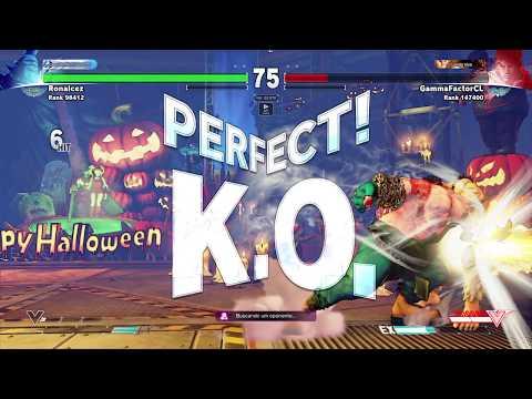 Street Fighter V Ranked Matches -  Birdie vs Ryu  (Perfect KO)