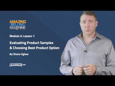 1  Evaluating Product Samples and Choosing Best Supplier