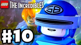 LEGO The Incredibles - Gameplay Walkthrough Part 10 - Return to Nomansan Island!