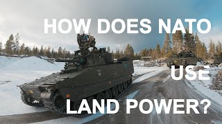 HOW DOES NATO USE LAND POWER?