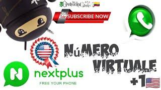 Número virtual +1🇺🇸, para WhatsApp gratis 2021.#Nextplus#whatsapp#telegram#signal. screenshot 2