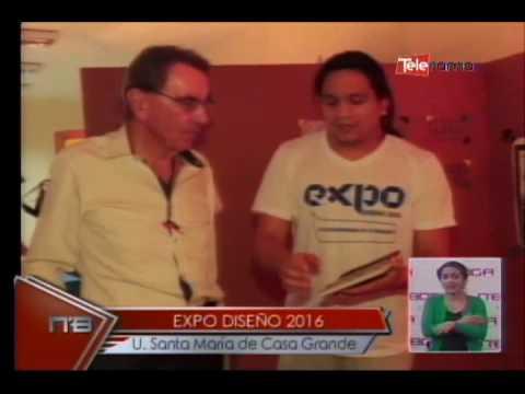 Expo diseño 2016 U  Santa María de Casa Grande