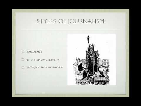 Joseph Pulitzer and American Journalism