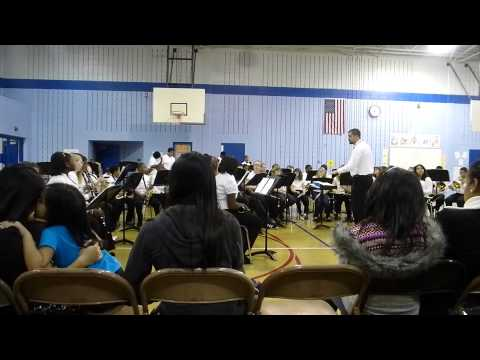 Woodmont Middle School Winter Band Concert 2012 No. 2