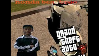 GTA INDONESIA #naik honda beat brooo..
