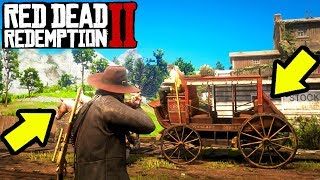 EASY MONEY HEIST STAGE COACH ROBBERY in Red Dead Redemption 2!