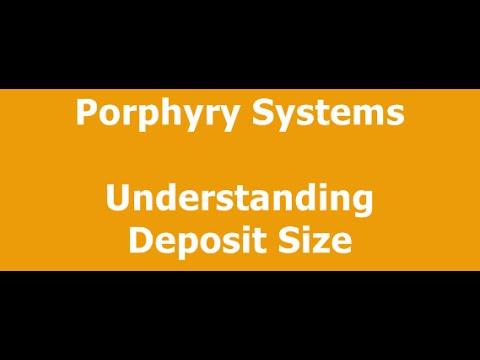 Porphyry Deposit Size