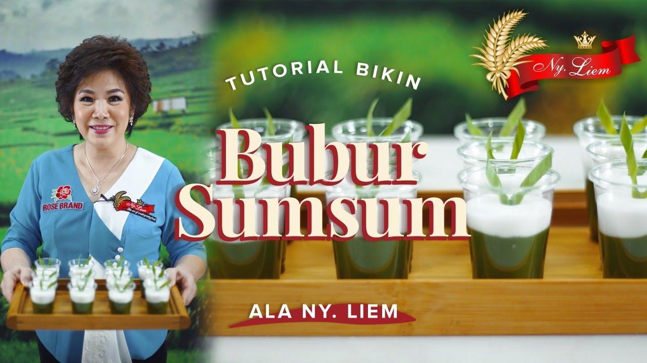 MASAK BUBUR SUMSUM DESSERT KHAS INDONESIA! Bersama Rose Brand